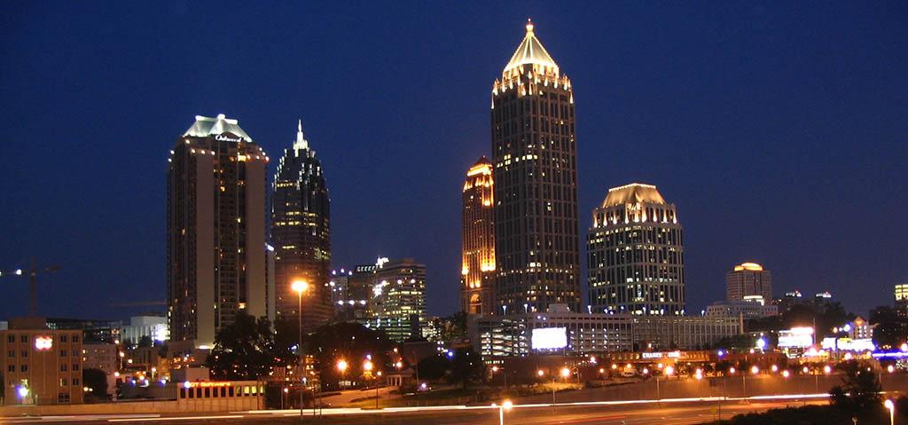 The city of Atlanta