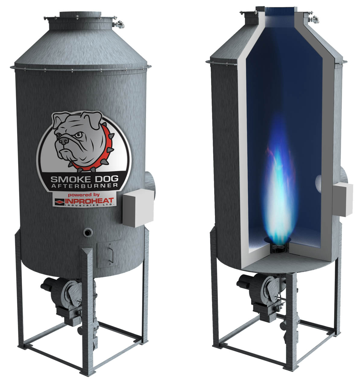The Smoke Dog Afterburner for Coffee Roasters