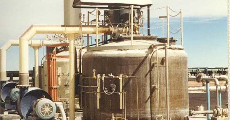 Inproheat Industries - SubCom® Case Study: Compania Minera Cerro Colorado Heap Leach Solution Heating
