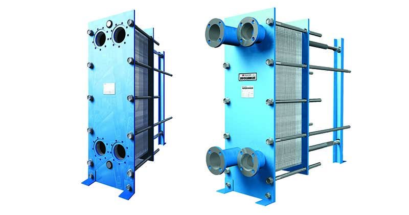 Inproheat Industries - Plate and Frame-Gasketed Heat Exchangers