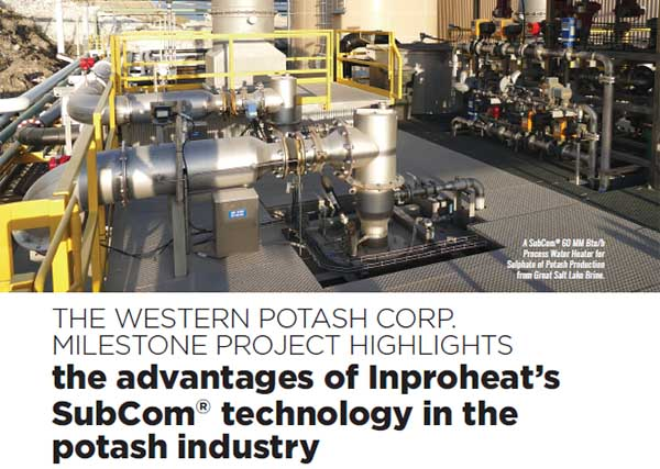 Inproheat Industries - Potash Works Article